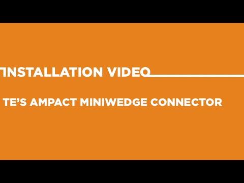 TE's AMPACT Miniwedge Connector