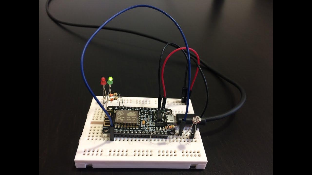 How to build a IoT light sensor with deepstreamHub? - YouTube