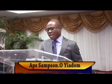 Aps Sampson.O Yiadom, The Lord Our Great Shepherd.