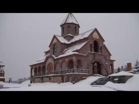 Армянская церковь Сурб Вардан Кисловодск зимой
