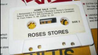 Roses Department Store Sale Announcement Tape  11-7-88 Side 2