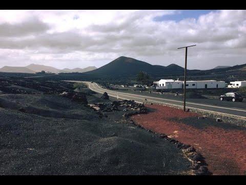 Lanzarote - Canary Islands volcanoes Road Trip GoPro HD
