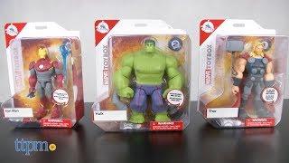 Marvel Toybox Hulk, Thor & Iron Man from Disney Store