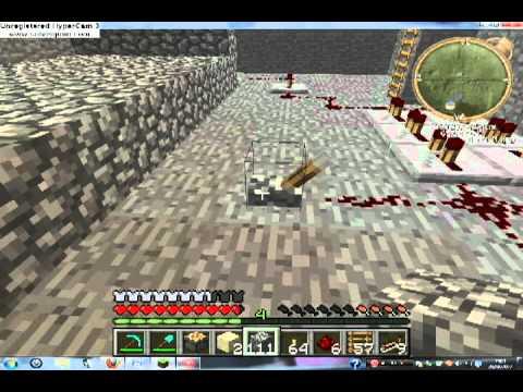 minecraft comment pi ger l 39 entr e de sa maison part1 youtube. Black Bedroom Furniture Sets. Home Design Ideas