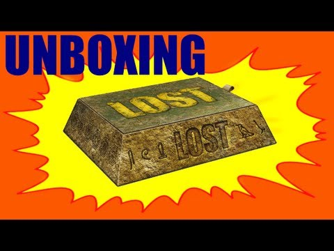 DVD Unpackaging Lost The Complete Collection TV Series Box Set