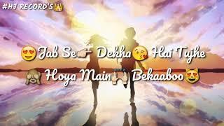 aankhe h teri jese kala jadu yo yo honey singh best song status.. kudi tu butter