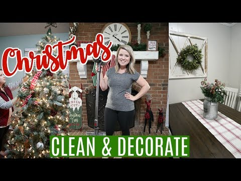 CHRISTMAS CLEAN AND DECORATE WITH ME 2019 | SIMPLE & MINIMAL DECOR