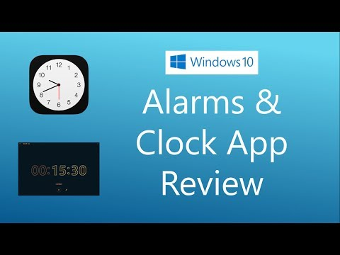 Alarms & Clock app in Windows 10 you should use - YouTube