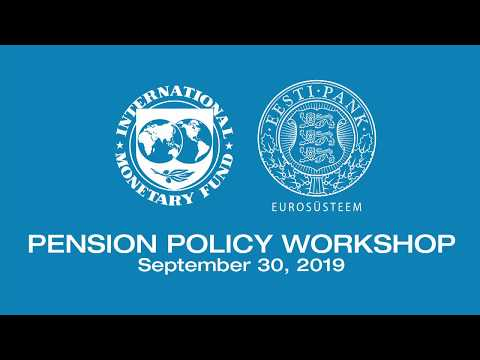 EESTI PANK, IMF Pension Policy Workshop
