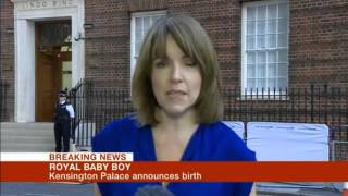 BBC One Breaking News - Royal Baby - 22/07/2013