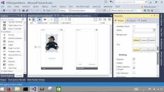 Using the Xamarin Designer for iOS in Visual Studio