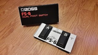 Boss FS-6 Dual Footswitch - Demo/Review