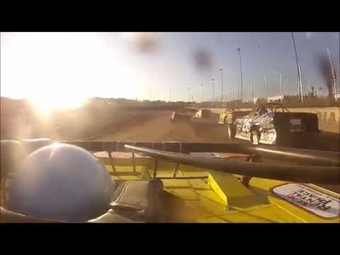 Tim Hamburg Peoria Speedway 6-4-2016 In-Car Heat Race
