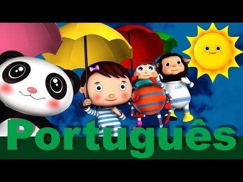 Chuva, chuva, vá embora | canções infantis | LittleBabyBum