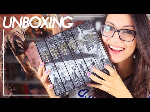 THE MORTAL INSTRUMENTS - COMPLETE COLLECTION | Unboxing | Pam Gonçalves