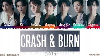 Download lagu GOT7 - 'CRASH & BURN' Lyrics [Color Coded_Han_Rom_Eng]
