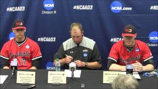 2017 Division III World Series Game 1: W&J postgame