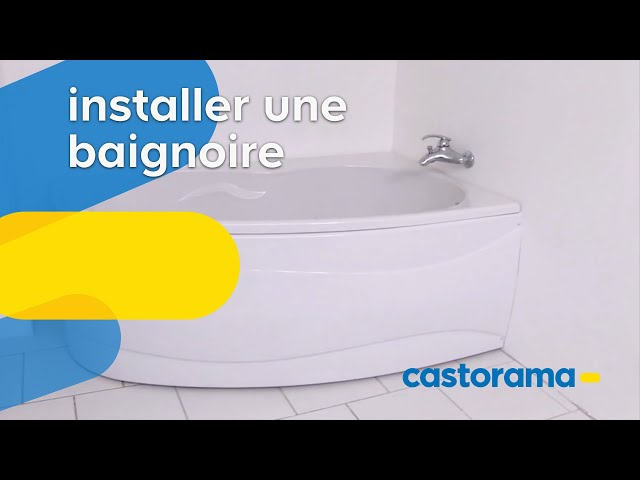 Installer Une Baignoire Castorama Youtube