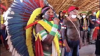 Cacica Ô-é-Kayapó povo Mëbêngôkre-Kayapó