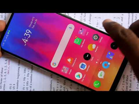 How to enable sound for screen recording in Realme X
