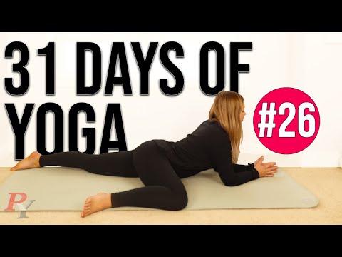 month of yoga  31 days of yoga  yin yoga for full body