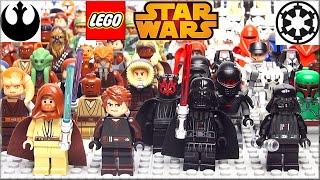 LEGO Star Wars минифигурки Часть 2. Обзор Лего Звёздные войны Тёмная сторона