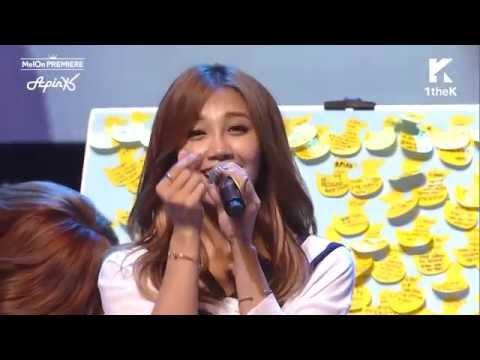 "Apink Eunji Sings ""Flower Petal"" (꽃잎점)"