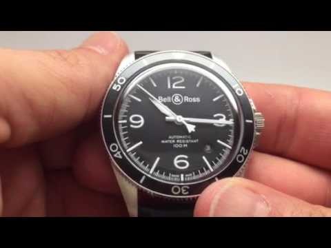 472a27e12c Bell   Ross BR V2 92 Black Steel Mens Watch Review 2017 - YouTube
