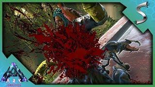 REAPER BABY CHEST BURST REAPER RAISING  LEVELING - Ark Aberration DLC Gameplay E34