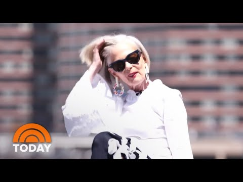 66-Year-Old Lyn Slater Talks About Becoming An 'Accidental Icon' | TODAY
