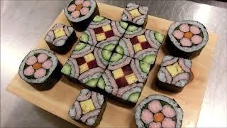 初めての飾り巻き寿司授業
