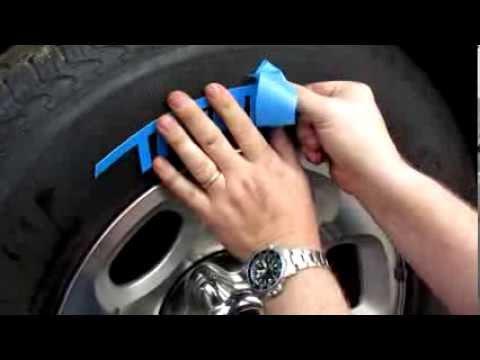 Tredwear White Letter Tire Installation Video Youtube