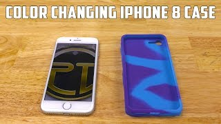 DIY Apple iPhone 8 Silicone Case | Changes Color In Sunlight