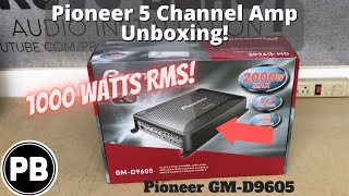 Video Pioneer 5 Channel Amp Unboxing | GM-D9605 download MP3, 3GP, MP4, WEBM, AVI, FLV Agustus 2018
