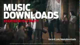 Bacardi Music Download. It Started with a Party