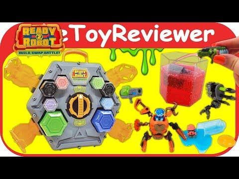 Ready2Robot Big Slime Battle Playset Arena Ready To Robot Unboxing Toy Review By TheToyReviewer