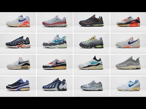 History Of The Nike Air Max - YouTube