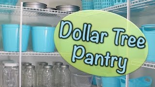 Dollar Tree Pantry Organization | Collab With Athomewithnikki