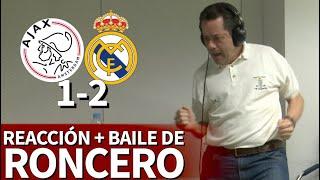 Ajax 1- Real Madrid 2 | Roncero y su baile del triunfo en el 1-2 de Asensio: insuperable | Diario AS