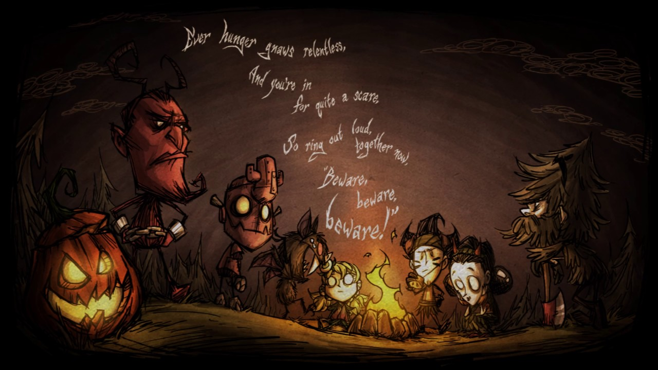 Dont Starve Together Hallowed Nights Cover