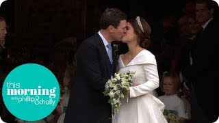 Princess Eugenie and Jack Brooksbank Share Their First Kiss | This Morning