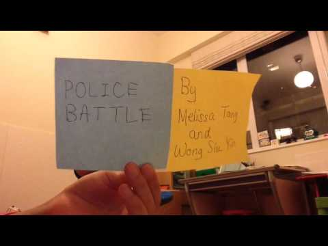 Police Battle by Melissa Tang and Wong Siu Yin