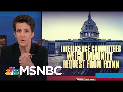 Michael Flynn's Testimony Could Implicate Higher-Ups In Government | Rachel Maddow | MSNBC