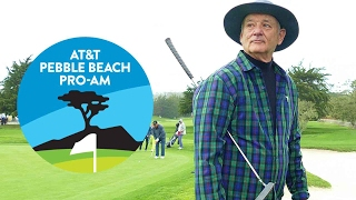 AT&T PEBBLE BEACH PRO AM 2017 HIGHLIGHTS - Bill Murray, Andy Garcia, Josh Duhamel & More