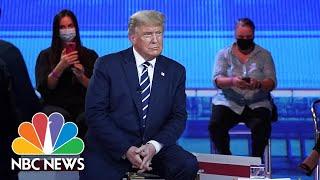 Trump Denounces White Supremacy, Sidesteps Question On QAnon   NBC News