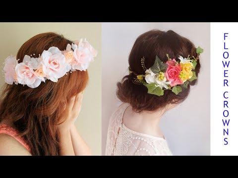 Flower Crown: Wedding Crown; Baby Crown