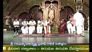 sri g balakrishna prasad ttd aasthana vidhwan felicitation