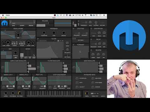 Helm Software Synth - 2nd Oscillator Video Tutorial