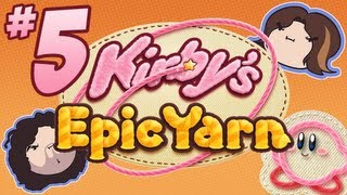 Kirby's Epic Yarn: Some Like it Hot - PART 5 - Game Grumps