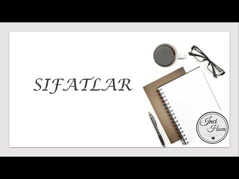 SIFATLAR Konu Anlatımı TYT / YKS / KPSS / ALES / AÖF